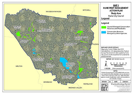 Pest Animal Action Plan for Hume City Council, Victoria 2012-2015